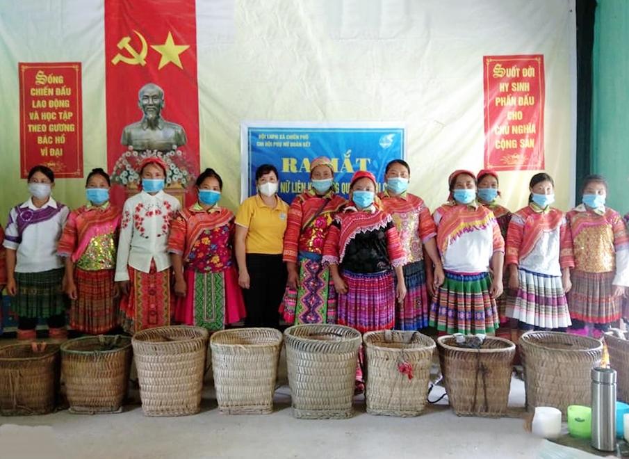 Ra mắt tổ liên kết dùng quẩy tấu đi chợ để bảo vệ môi trường tại Hà Giang