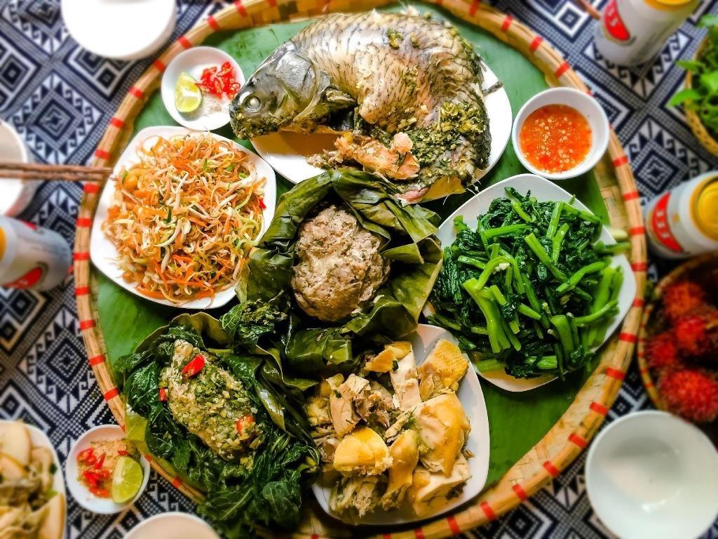 Ẩm thực của người Thái Mai Châu