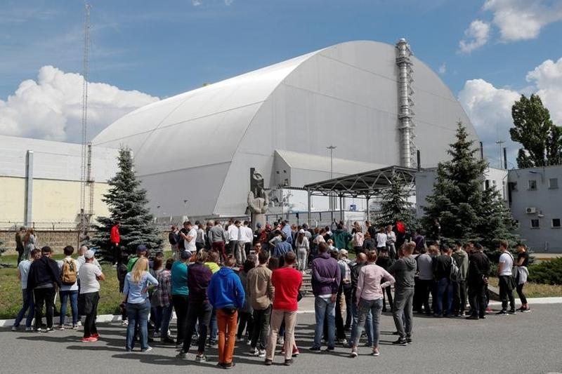 """Du khách tới thăm """"Chernobyl"""" tăng 30-40% sau loạt phim trên kênh HBO (Ảnh: REUTERS)"""