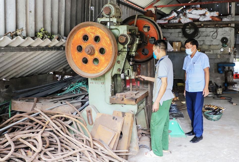 Ông Hà đưa cơ giới vào sản xuất, giải phóng được sức lao động