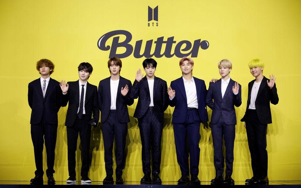 Nhóm nhạc BTS của Hàn Quốc. (Ảnh: Reuters)