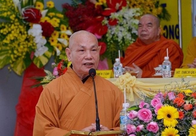 """Hòa thượng Thích Thiện Nhơn, Chủ tịch HĐTS Giáo hội Phật giáo Việt Nam kêu gọi Tăng Ni, Phật tử hưởng ứng Chương trình """"Sóng và máy tính cho em"""""""