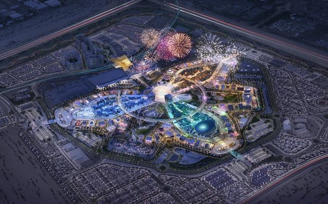 Khu phức hợp diễn ra Expo 2020 Dubai (Ảnh TL)