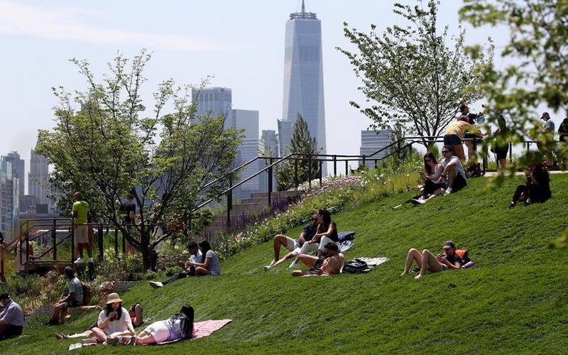 """New York được Time Out khen ngợi về khả năng phục hồi và cũng được mệnh danh là thành phố """"thú vị nhất"""" trên thế giới. Ảnh: Reuters"""