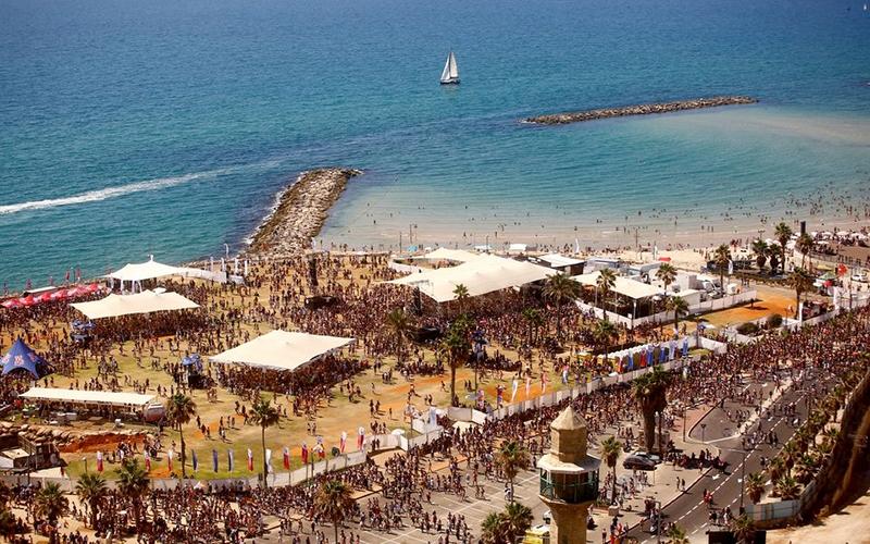 Thành phố Tel Aviv đứng thứ tám trong danh sách của Time Out. Ảnh: Reuters