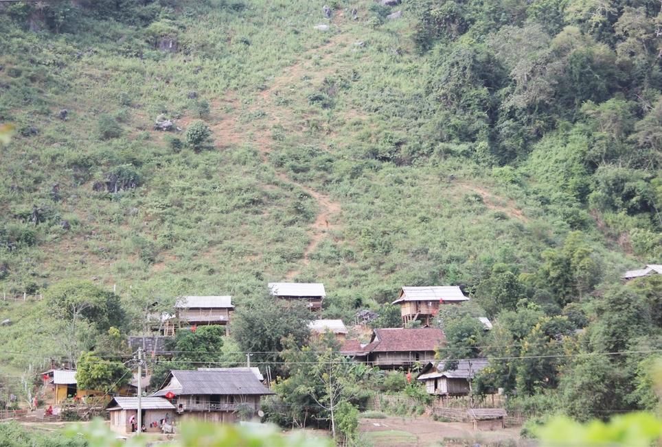 Tỉnh Điện Biên là điểm nóng của tình trạng ma túy (Ảnh chụp tại xã Pa Thơm, huyện Điện Biên)