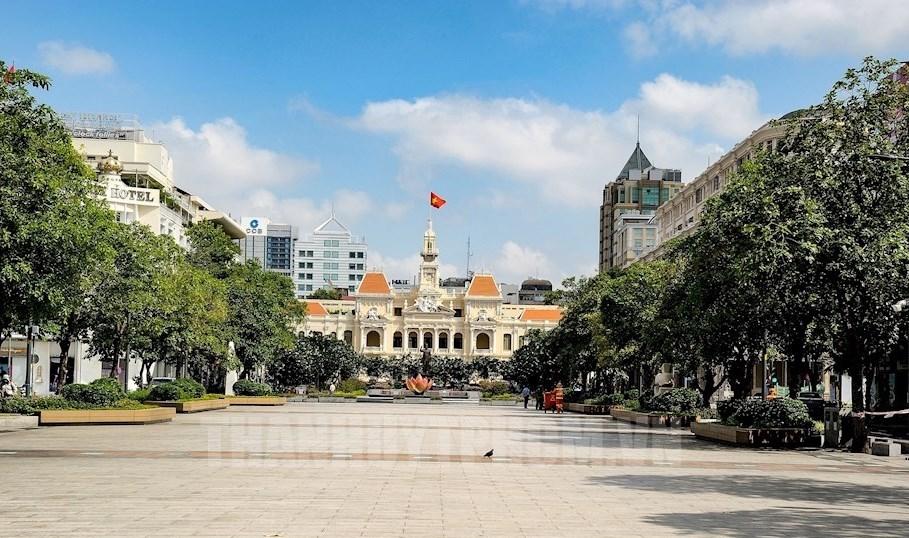 Từ ngày 16/9, TP. Hồ Chí Minh vẫn tiếp tục thực hiện nghiêm Chỉ thị 16. Ảnh minh họa