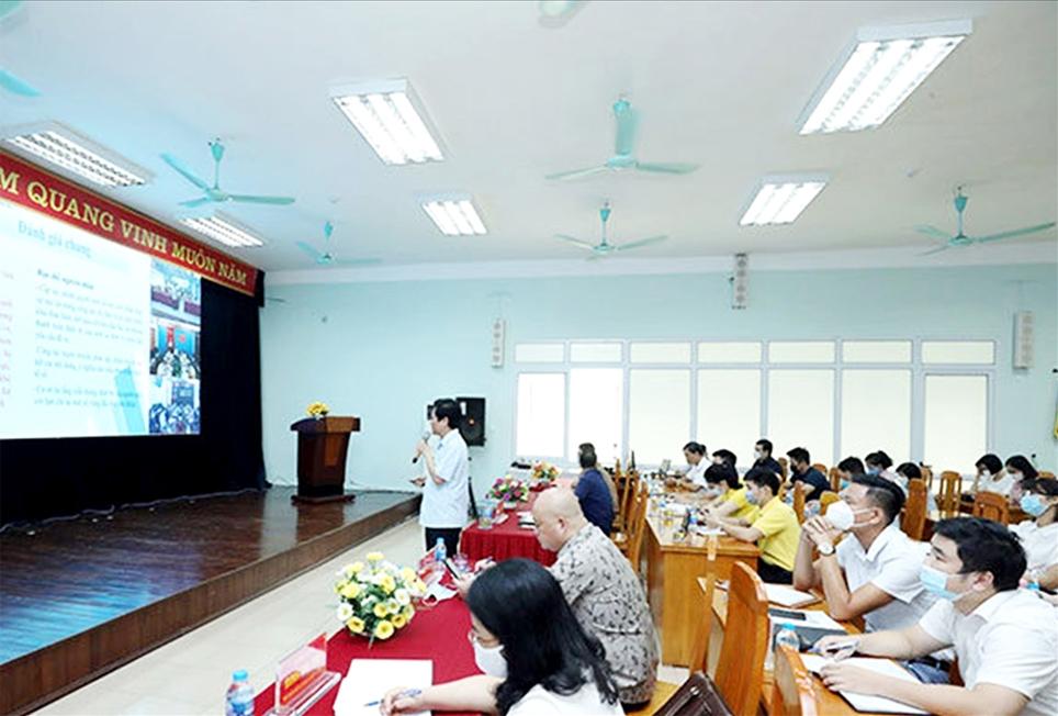 Quang cảnh Hội nghị tập huấn triển khai phát triển kinh tế số nông nghiệp nông thôn tỉnh Lạng Sơn