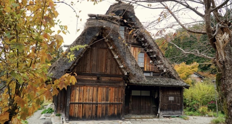 Làng cổ Shirakawago vào Thu 5
