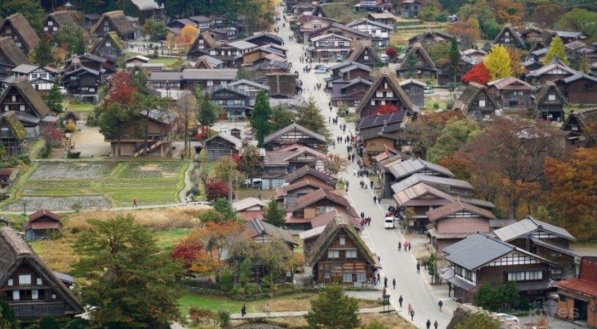 Làng cổ Shirakawa-go (Nhật Bản)