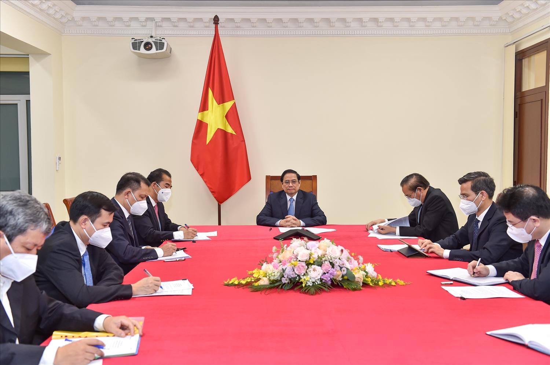 Thủ tướng đề nghị Áo đưa Việt Nam vào danh sách ưu tiên hỗ trợ phát triển - Ảnh: VGPNhật Bắc