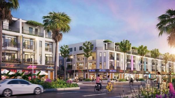 Shophouse Kosy City Beat Thai Nguyen hưởng lợi lớn từ hạ tầng và quy hoạch đô thị (Ảnh phối cảnh)