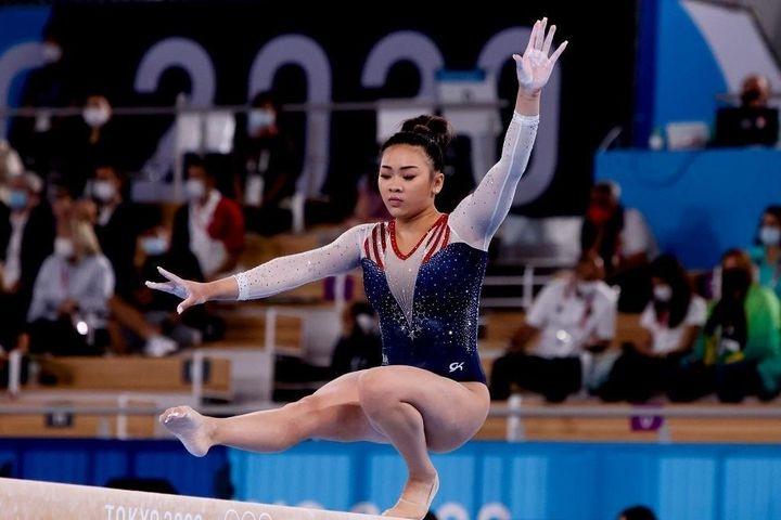 Sunisa Lee là VĐV người dân tộc Mông gốc Lào (Ảnh TL)