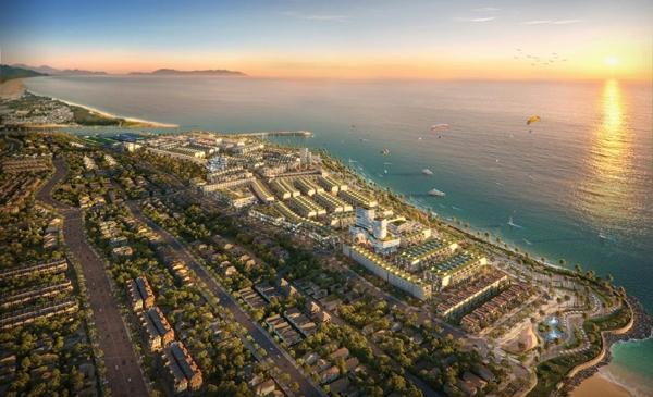 Các khu phức hợp đô thị thương mại - dịch vụ và du lịch biển được đầu tư bài bản sẽ giúp bất động sản La Gi thu hút khách du lịch và nhà đầu đầu tư