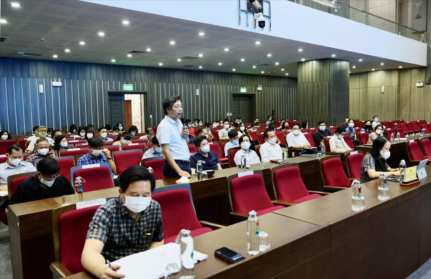 Quang cảnh buổi Hội nghị