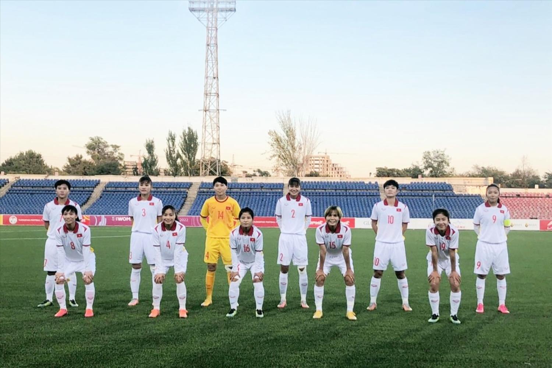 Đội tuyển nữ Việt Nam. (Ảnh: VFF)
