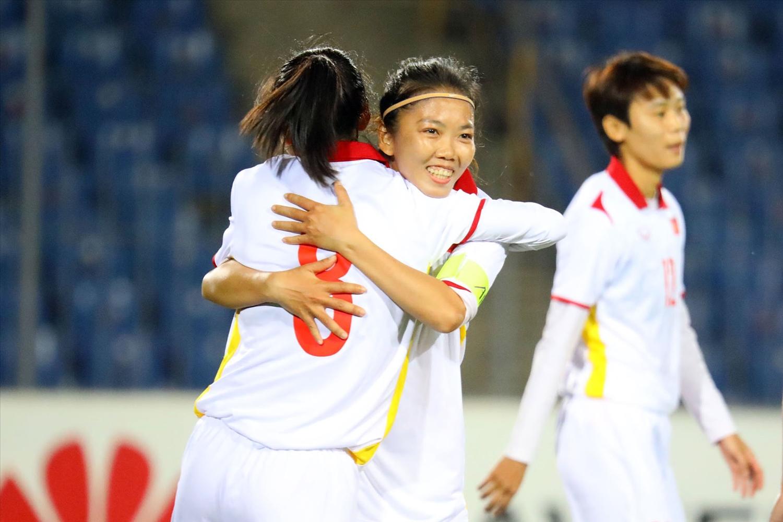 Đội tuyển nữ Việt Nam dễ dàng giành chiến thắng 16-0 trước Maldives. (Ảnh: AFC)