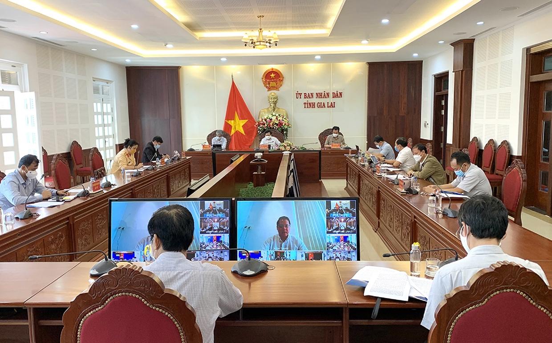 Đại biểu UBND tỉnh Gia Lai tham dự Diễn đàn trực tuyến