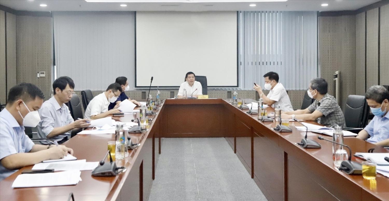 Thứ trưởng, Phó Chủ nhiệm Lê Sơn Hải chủ trì buổi họp