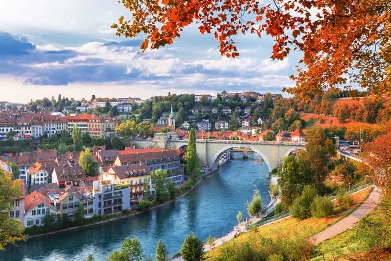 Bern- Thủ đô cổ kính của Thụy Sỹ. Ảnh minh họa
