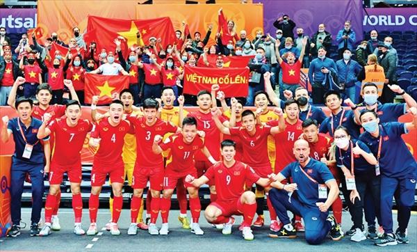 Từ cú hích mang tên World Cup, Futsal Việt Nam cần làm gì để phát triển hơn nữa trong tương lai? Ảnh: INTERNET
