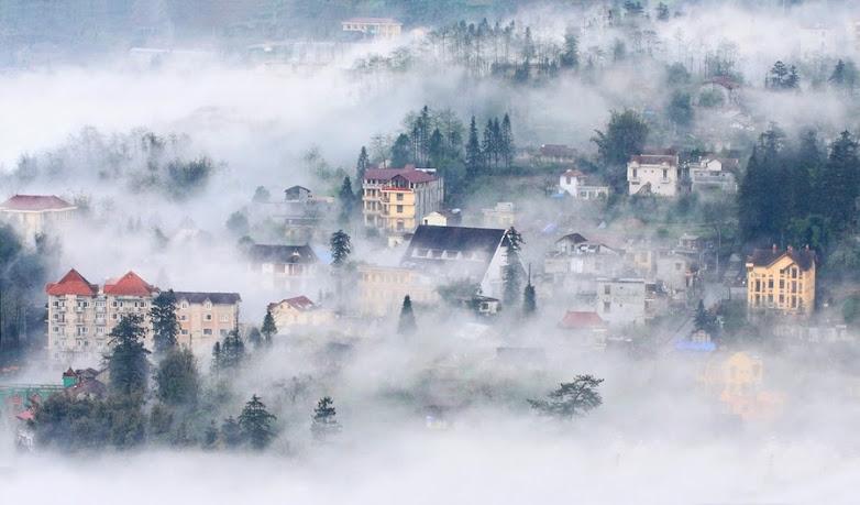 Sa Pa huyền ảo trong sương