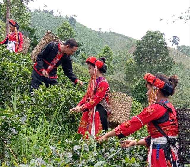 Người Pà Thẻn, xã Linh Phú (Chiêm Hóa) được hỗ trợ trang phục truyền thống từ Đề án 2086 (Ảnh minh họa)