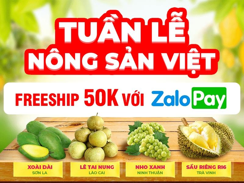 Tuần lễ nông sản Việt trên sàn thương mại điện tử