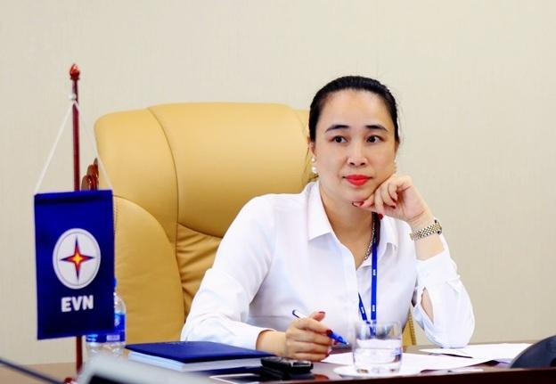 Bà Đỗ Nguyệt Ánh – Chủ tịch Hội đồng thành viên EVNNPC