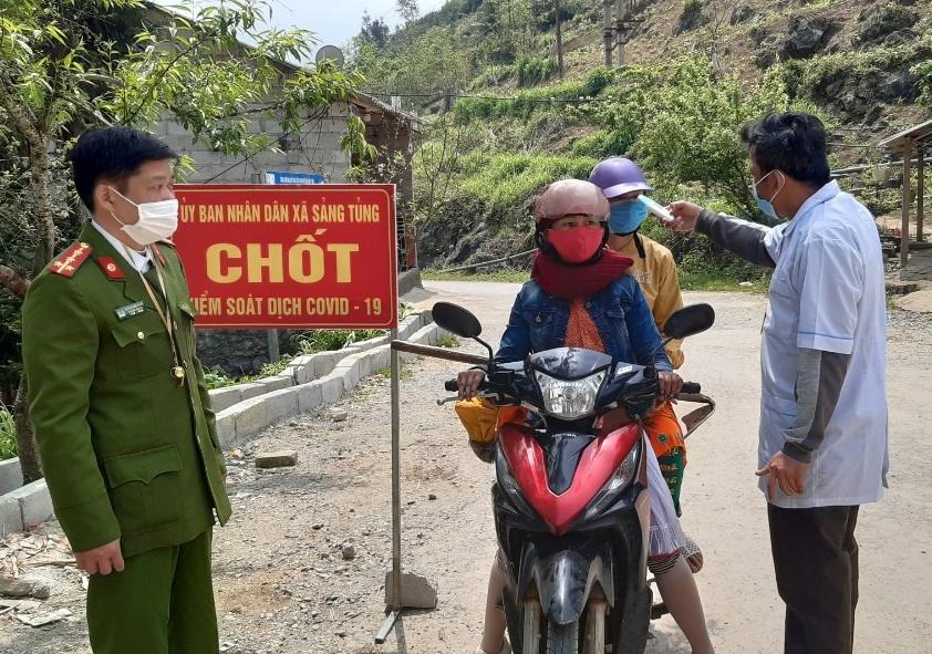 Các địa phương trong tỉnh Hà Giang bảo đảm công tác phòng, chống dịch khi tiếp nhận lao động từ phía Nam về