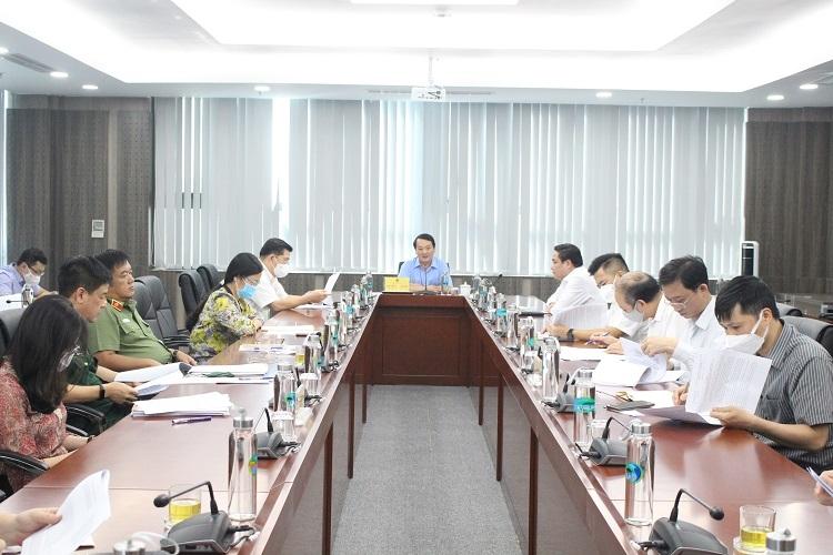 Bộ trưởng, Chủ nhiệm UBDT Hầu A Lềnh chủ trì phiên họp