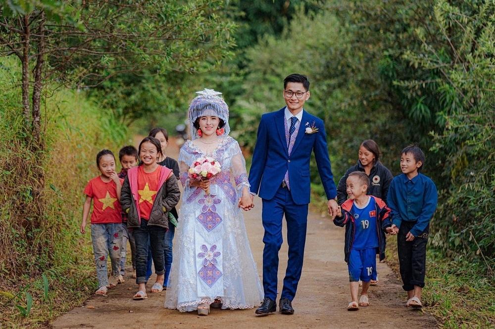 """9X Sài Gòn cưới vợ người H'Mông sau 5 tháng """"ở rể"""" vì Covid-19 2"""