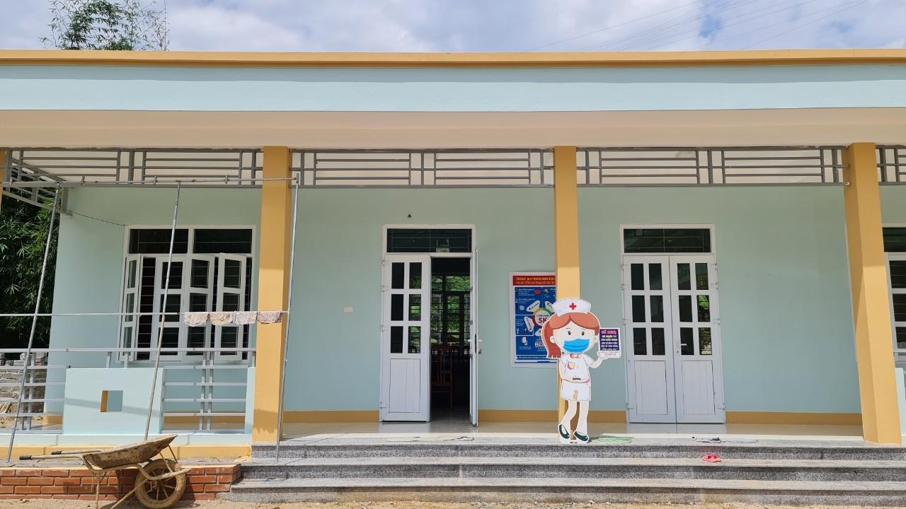 Sau khi bàn giao công trình 2 lớp học cho trường Mầm non Thành Sơn sẽ giúp các em thoát cảnh phải học ghép theo nhóm lớp