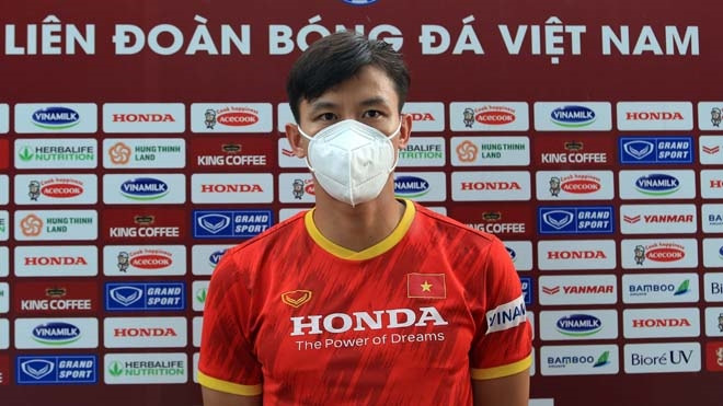 Đội trưởng đội tuyển Việt Nam Quế Ngọc Hải