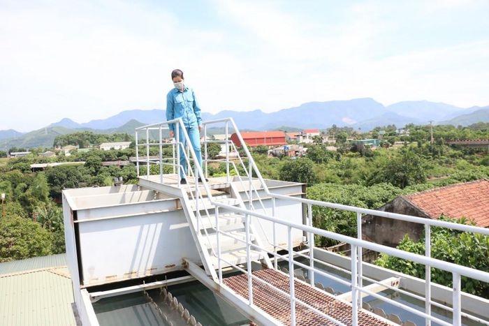 Trạm cấp nước sạch xã Bình Khê, thị xã Đông Triều, tỉnh Quảng Ninh