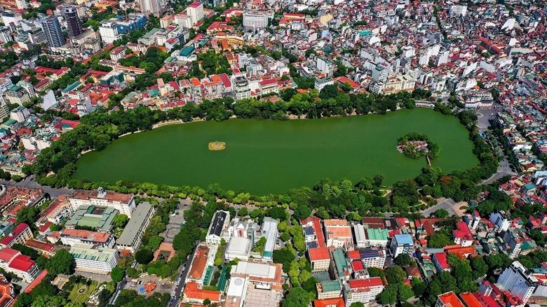 Diện mạo Thủ đô ngày càng khang trang, sạch đẹp. (Ảnh: Báo Nhân dân)