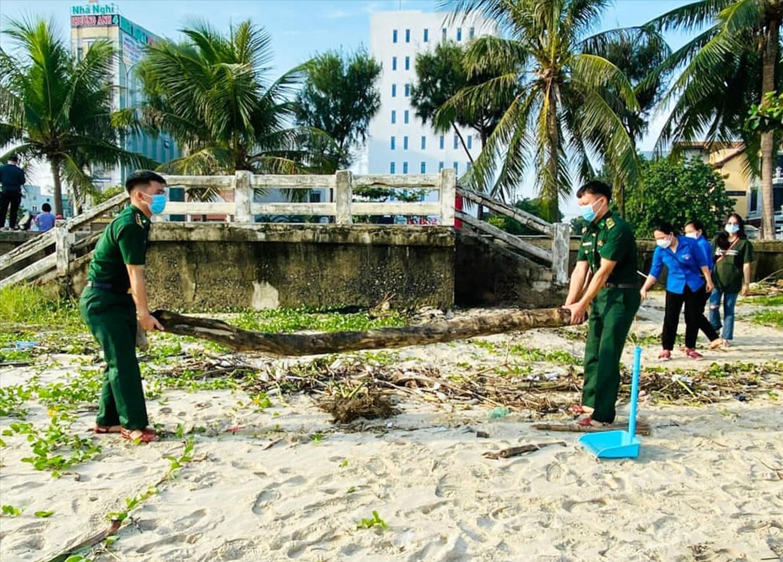 Nhiều rác thải biển được thu gom