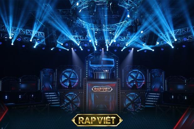 Sân khấu chương trình Rap Việt mùa 2