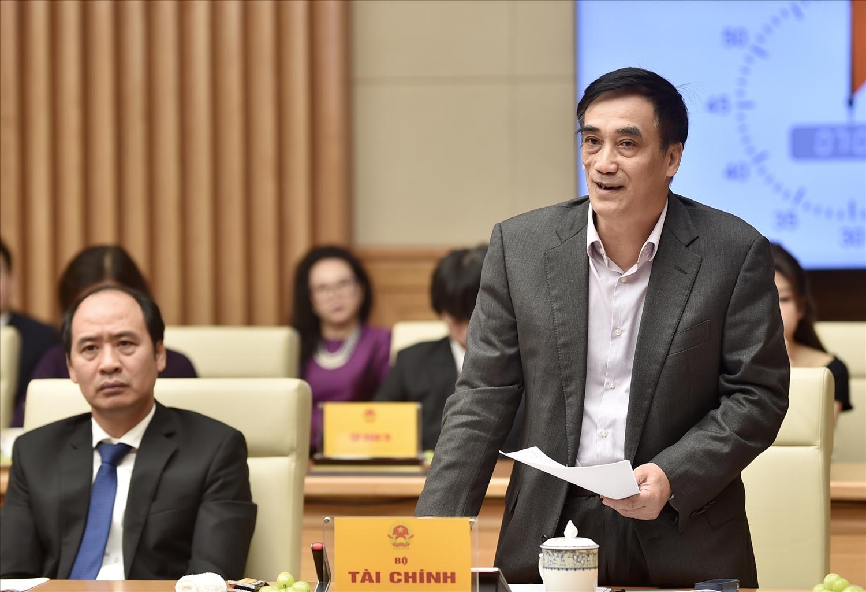Thứ trưởng Bộ Tài chính Trần Xuân Hà: Nhờ có đóng góp của cộng đồng doanh nghiệp và doanh nhân, kinh tế nước ta có sự phát triển và tăng trưởng, gia tăng về kim ngạch xuất nhập khẩu. Ảnh: VGP/Nhật Bắc