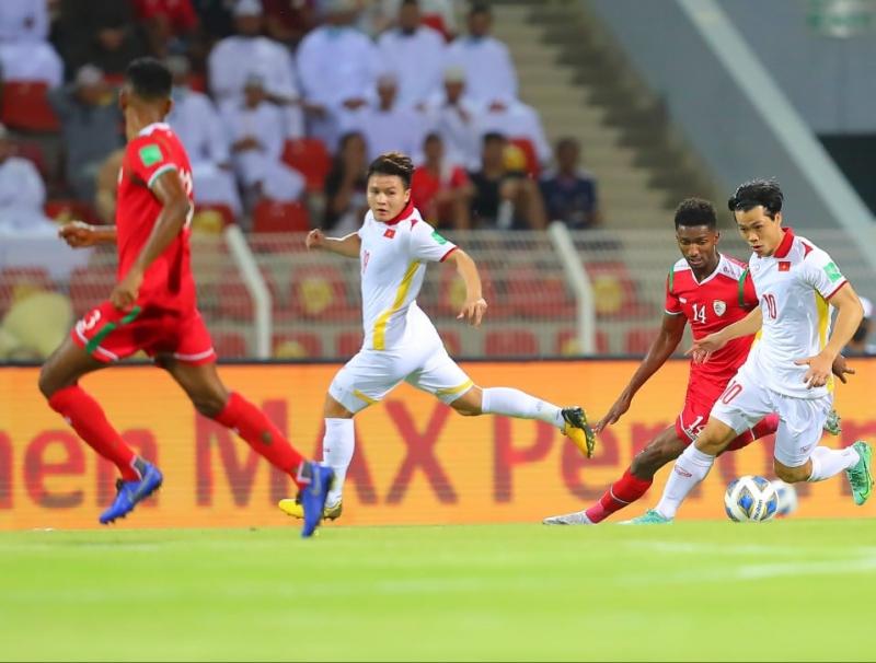 Đội tuyển Việt Nam dù có tiến bộ những rõ ràng vẫn còn một khoảng cách so với nền bóng đá đẳng cấp hàng đầu châu lục. Ảnh: VFF.