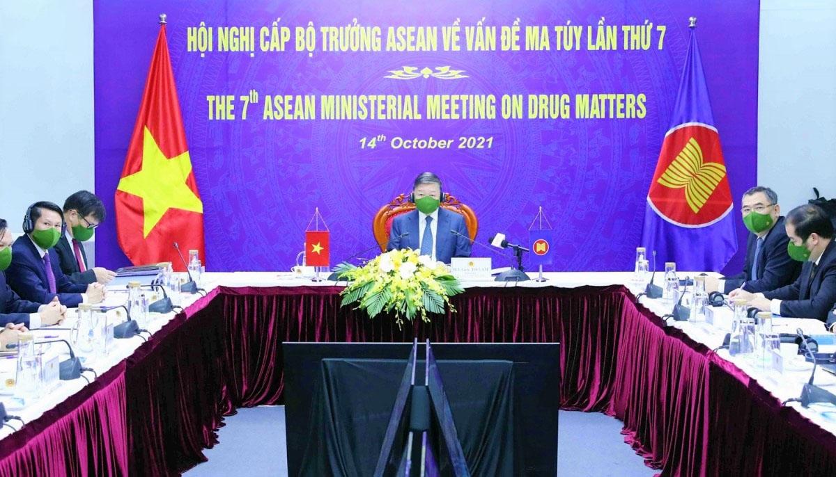 Đoàn đại biểu cấp cao của Việt Nam tham dự Hội nghị do Đại tướng Tô Lâm làm trưởng đoàn