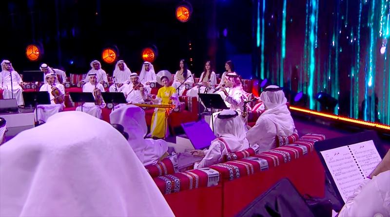 Tiếng đàn bầu Việt Nam ở EXPO 2020 Dubai 3