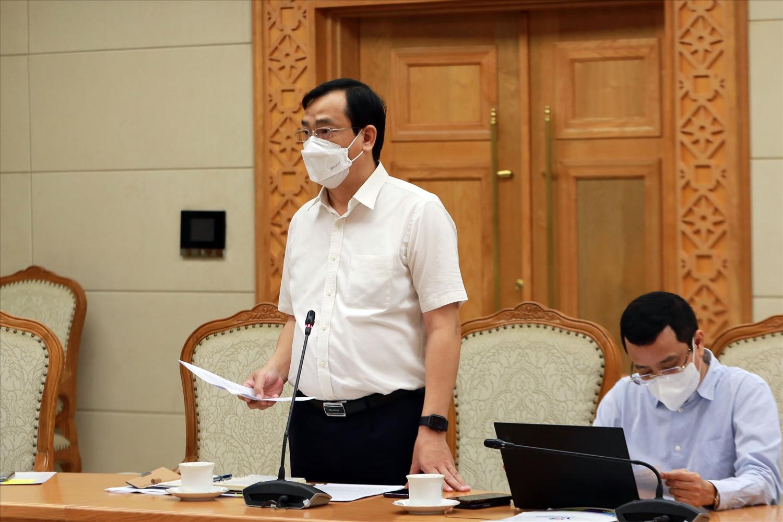 Tổng cục trưởng Tổng cục Du lịch Nguyễn Trùng Khánh cho biết nhiều địa phương đã bắt đầu xây dựng nhiều phương án để đưa ngành du lịch nội địa trở lại trong điều kiện bình thường mới từ tháng 11/2021. Ảnh: VGP/Đình Nam