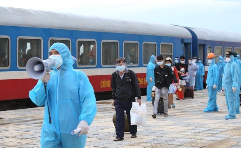 Trong đợt dịch thứ 4 bùng phát ở các tỉnh phía Nam, tỉnh Hà Tĩnh đã tổ chức nhiều đợt đón công dân trở về quê hương