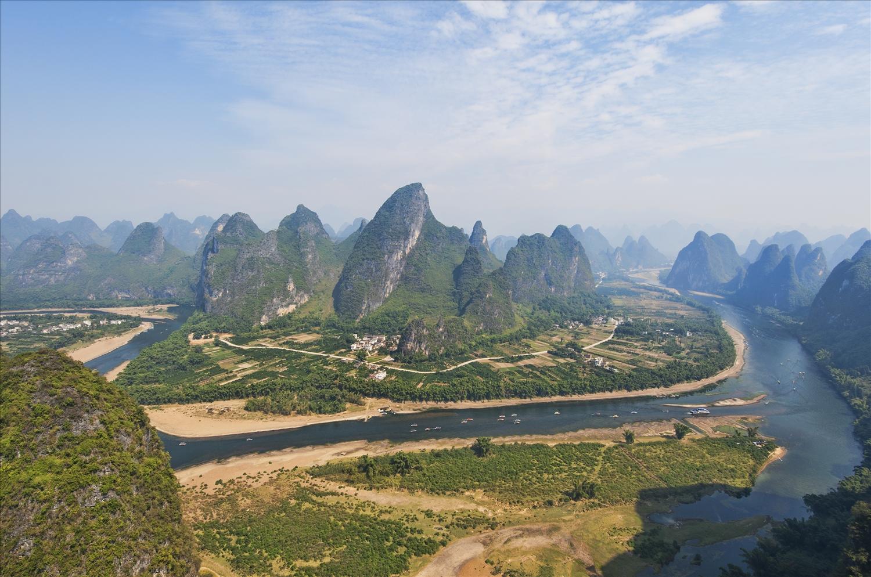 Vùng đất Quế Lâm (thuộc Khu tự trị dân tộc Choang Quảng Tây, Trung Quốc) - nơi có nhiều người Choang sinh sống