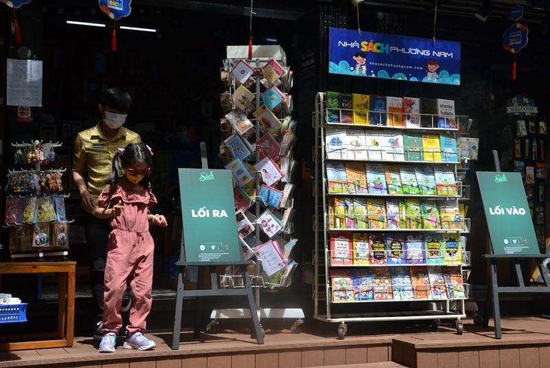 Đường sách TP, Hồ Chí Minh chính thức mở cửa hoạt động trở lại 2