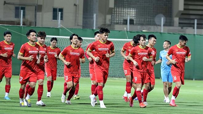 Tâm lý thoải mái cùng đối thủ vừa sức sẽ giúp đội tuyển Việt Nam tự tin Ảnh: VFF
