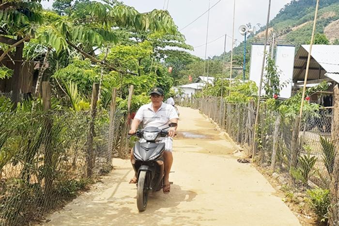 Một góc làng Cheng Tông hôm nay