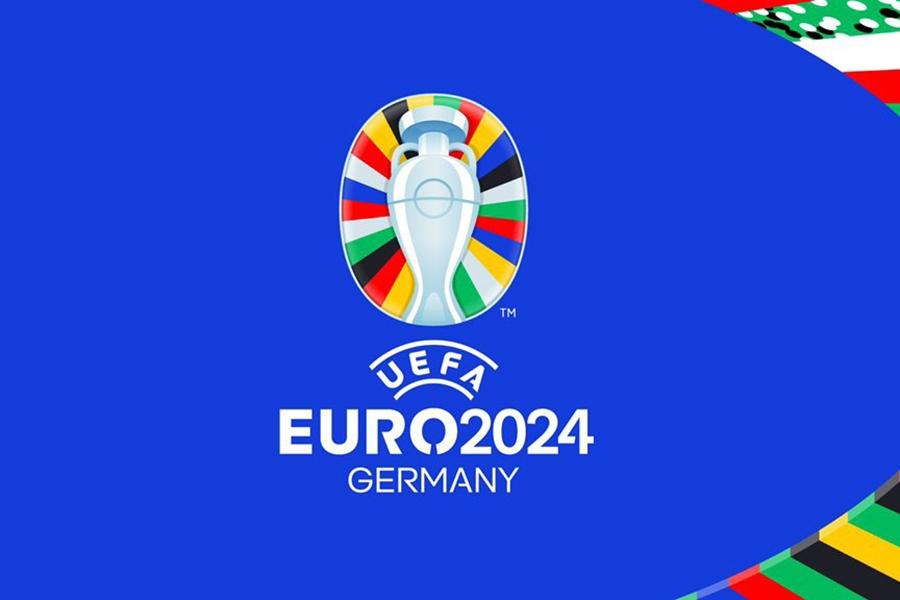 Logo chính thức của Euro 2024. Ảnh: UEFA